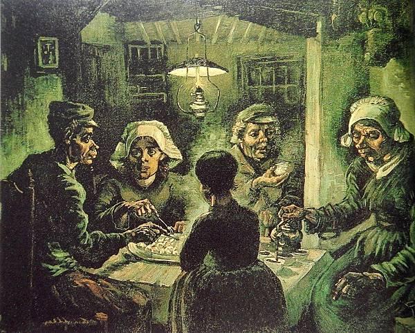 吃馬鈴薯的人(1885 荷蘭努能)