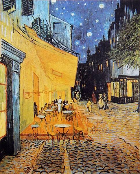 夜間咖啡館(1888 法國阿爾)