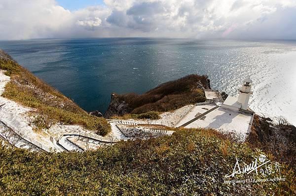 北海道室蘭市 muroran 地球岬 Cape Chikyu Chikyumisaki 燈塔
