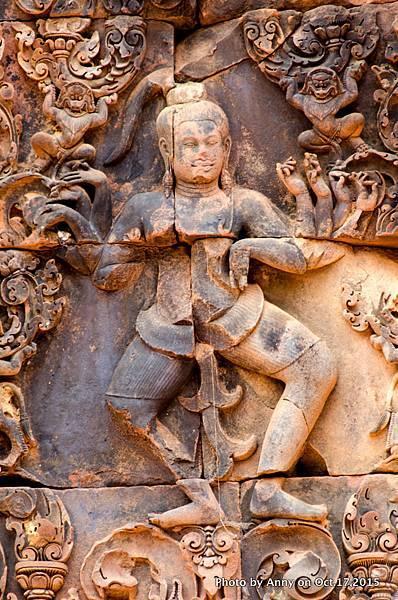 吳哥窟班蒂絲蕾(女皇宮) 濕婆破壞之舞24.jpg