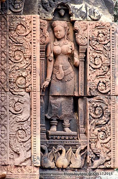 吳哥窟班蒂絲蕾(女皇宮) Devata女神 33.jpg