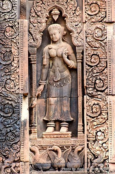 吳哥窟班蒂絲蕾(女皇宮)Devata女神35.jpg
