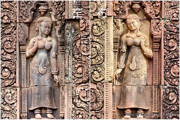 吳哥窟班蒂絲蕾(女皇宮) Devata女神 1.jpg