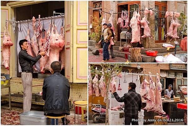 喀什古城羊肉攤