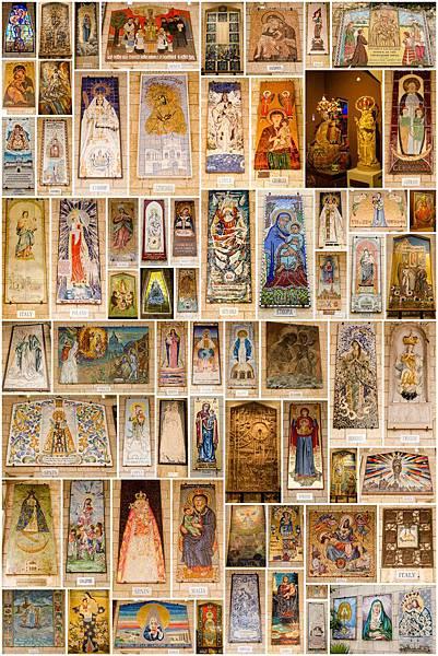 Nazareth 天使報喜堂 聖母與聖嬰23
