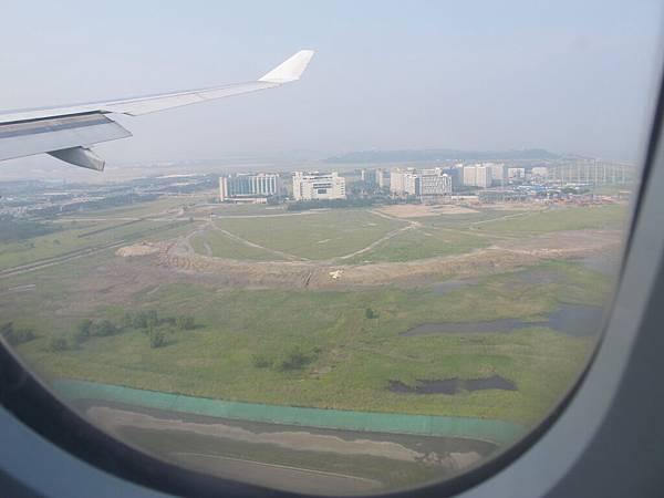 看到了~韓國的國土!