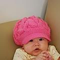 我戴帽子可愛嗎.JPG