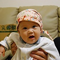 阿姨送的帽子好可愛 (1).JPG