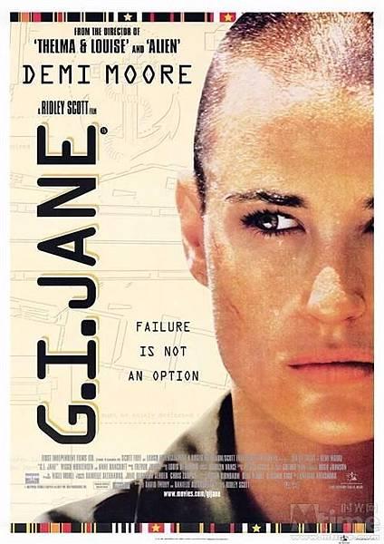 「G.I.JANE」魔鬼女大兵