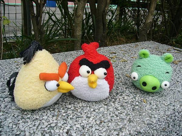 襪子娃娃-憤怒鳥-angry birds