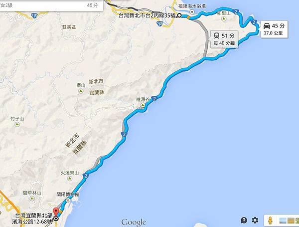 台2(福隆 - 頭城)