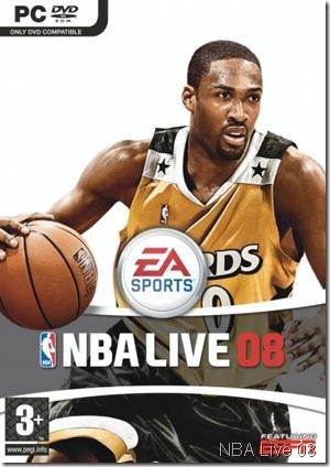 NBA Live 08 Cover