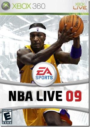 NBA Live 09 fake