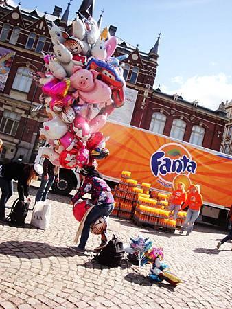 設計博物館、氣球和芬達