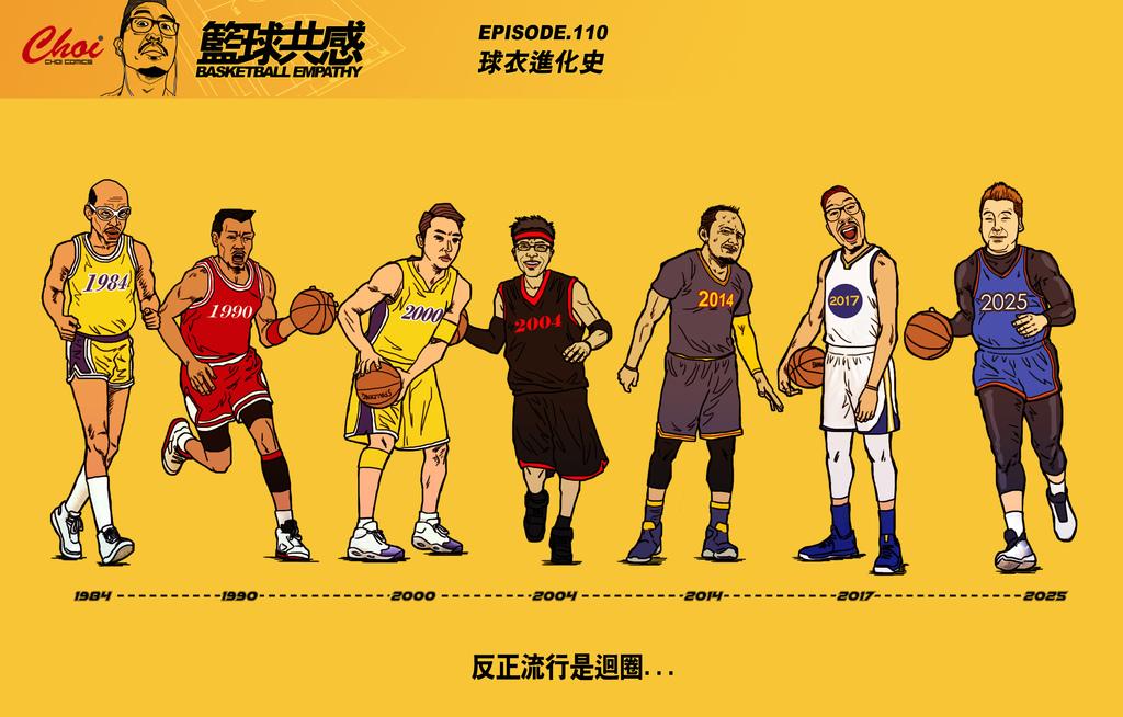 籃球共感ep110【球衣進化史】