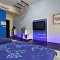 藍色海洋4人房