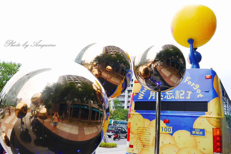廖西瓜@台北信義區幾米月亮公車45