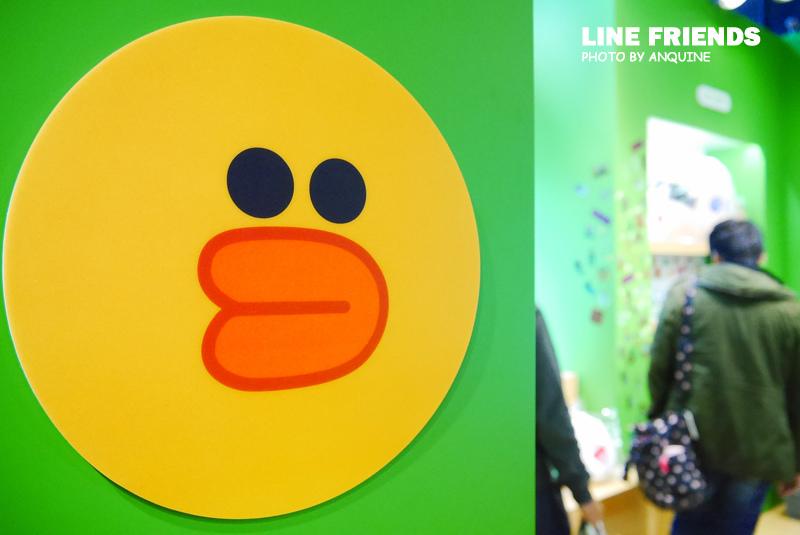 廖西瓜@微風松高LINE FRIENDS STORE 8