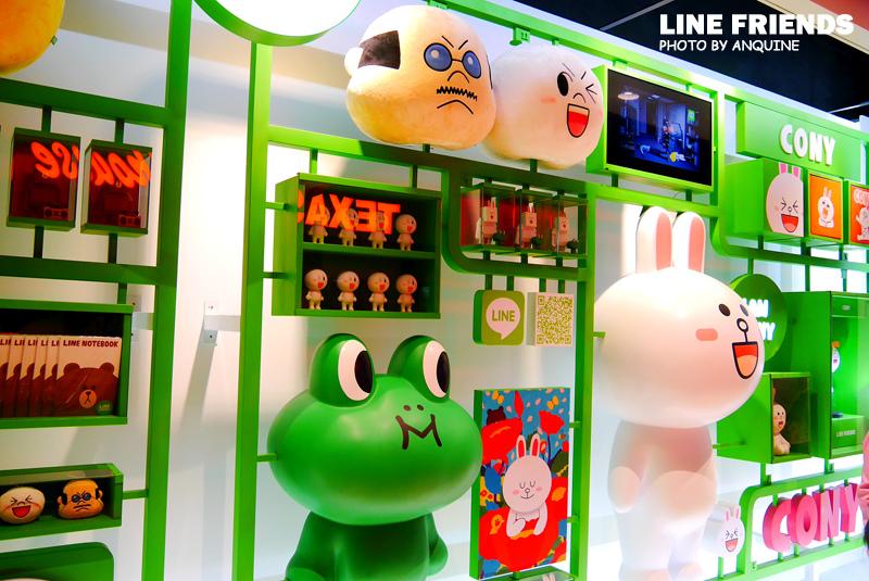 廖西瓜@微風松高LINE FRIENDS STORE 34