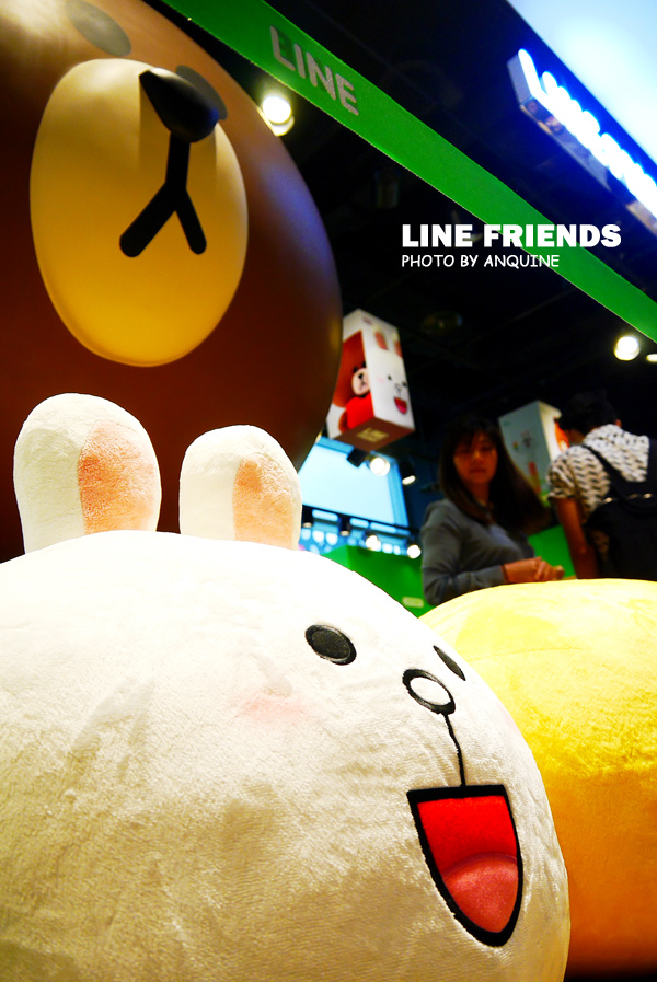 廖西瓜@微風松高LINE FRIENDS STORE 26