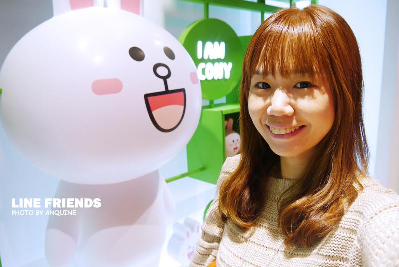 廖西瓜@微風松高LINE FRIENDS STORE 38