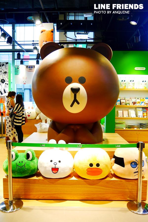 廖西瓜@微風松高LINE FRIENDS STORE 28