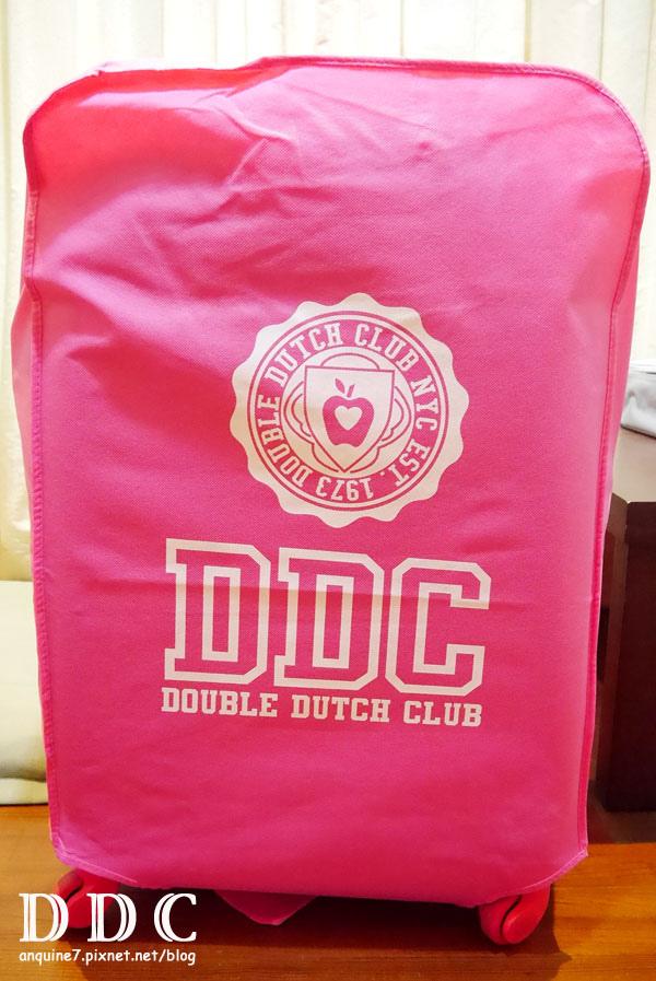 廖西瓜@double dutch club DDC行李箱3