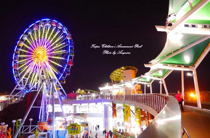 廖西瓜@台北市立兒童新樂園夜景12