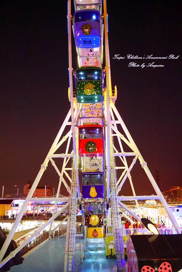 廖西瓜@台北市立兒童新樂園夜景8