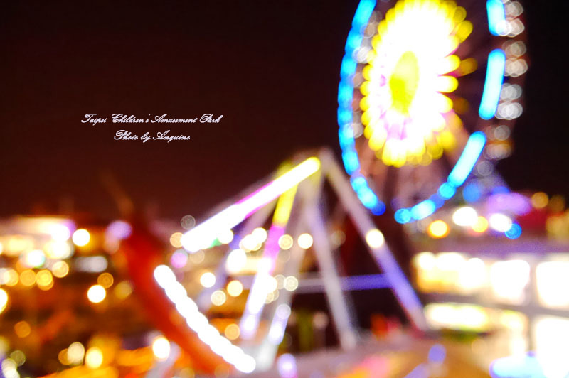 廖西瓜@台北市立兒童新樂園夜景14