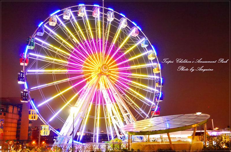 廖西瓜@台北市立兒童新樂園夜景封面