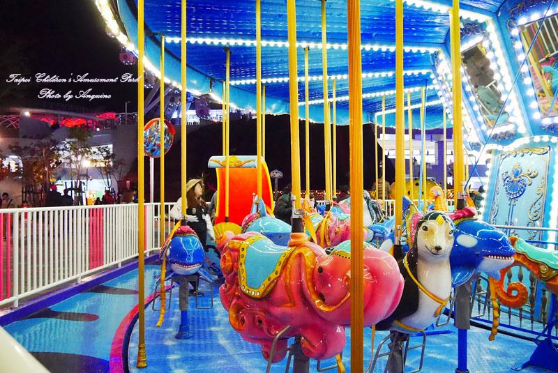 廖西瓜@台北市立兒童新樂園夜景32