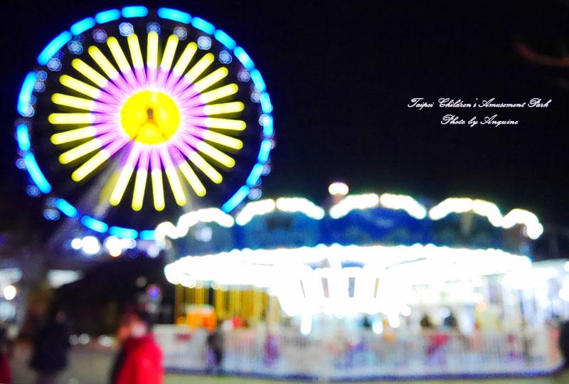 廖西瓜@台北市立兒童新樂園夜景30