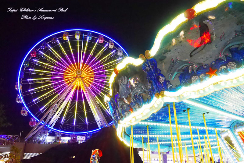 廖西瓜@台北市立兒童新樂園夜景31