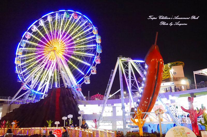 廖西瓜@台北市立兒童新樂園夜景39