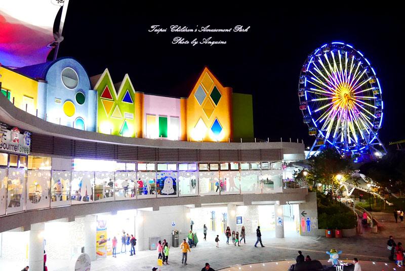 廖西瓜@台北市立兒童新樂園夜景29