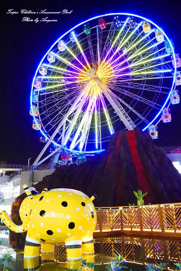 廖西瓜@台北市立兒童新樂園夜景38