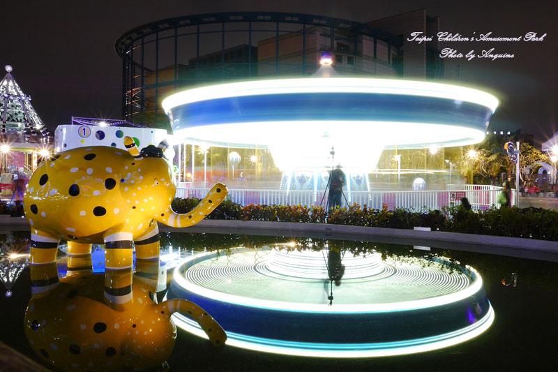 廖西瓜@台北市立兒童新樂園夜景37