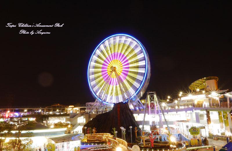 廖西瓜@台北市立兒童新樂園夜景43