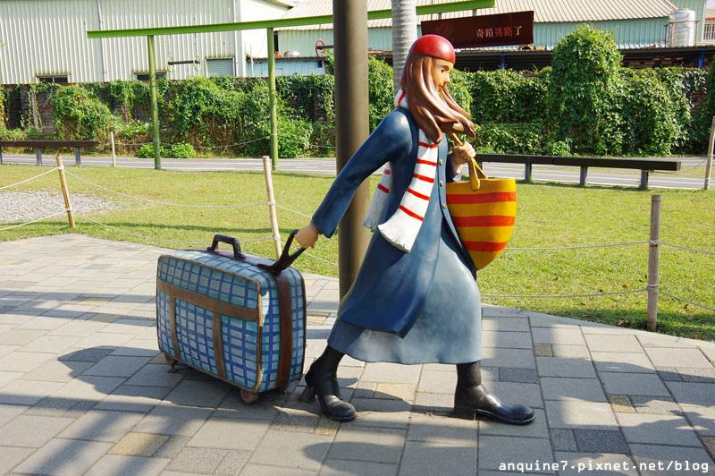 廖西瓜@宜蘭火車站、丟丟噹公園飛天火車、幾米主題廣場38