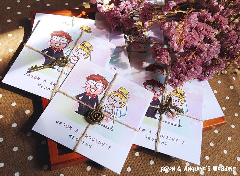 廖西瓜@大貓西瓜婚禮紀錄手繪塗鴉喜帖謝卡1.JPG