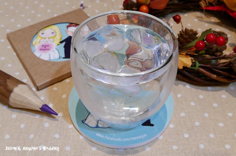 廖西瓜@婚禮婚紗手繪塗鴉之婚禮小物陶瓷吸水杯墊9.JPG
