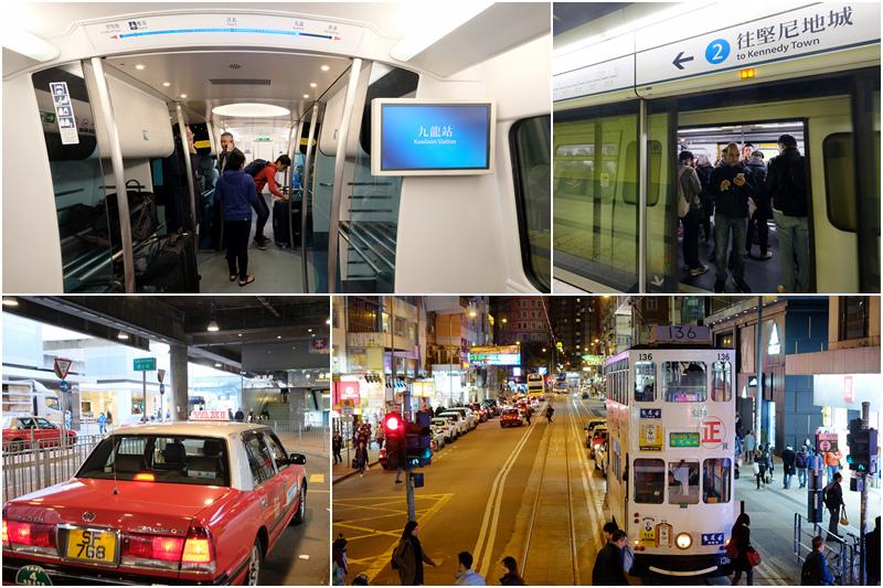 香港自由行交通