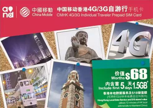 香港上網卡