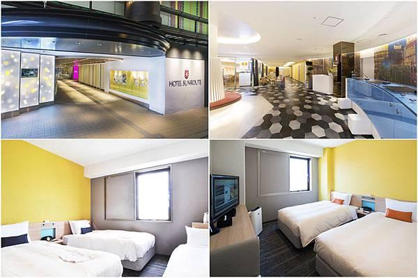 大阪難波燦都路飯店 (Hotel Sunroute Osaka Namba)