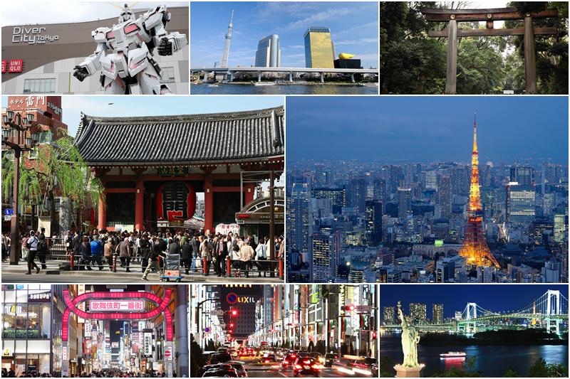 東京景點組圖