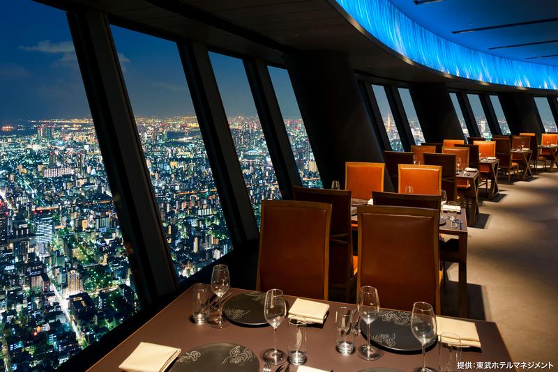 晴空塔餐廳634