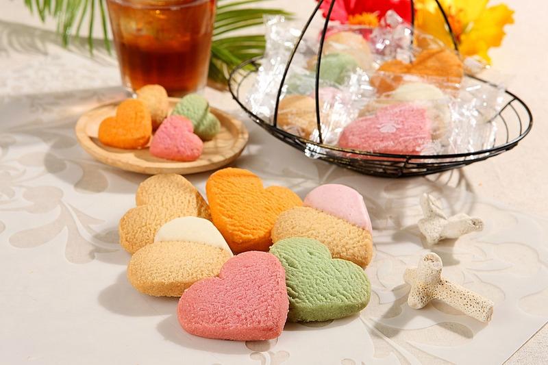 古宇利島心型餅乾