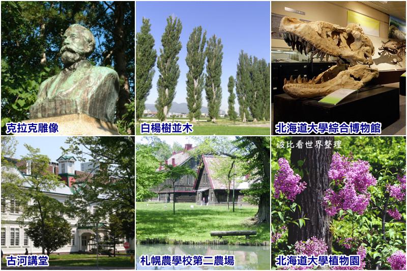 北海道大學參觀重點