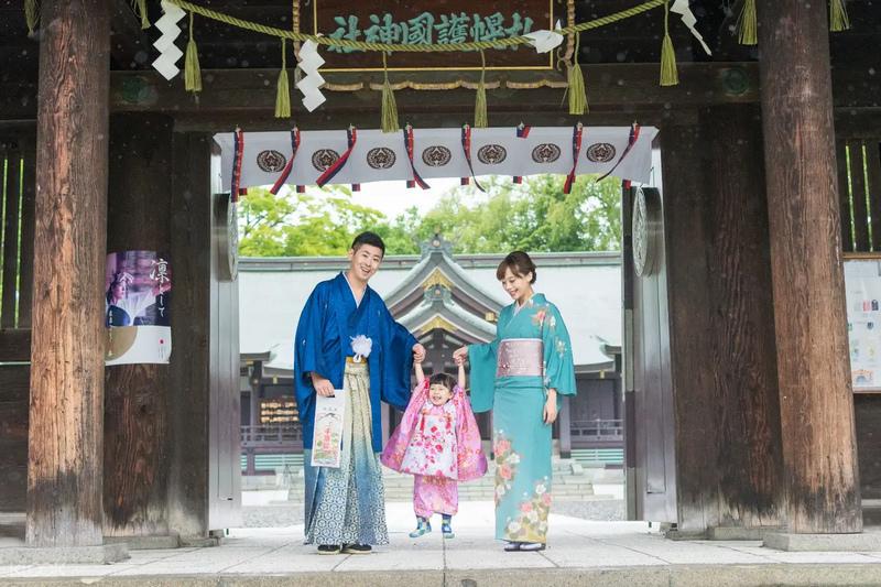 北海道神宮和服
